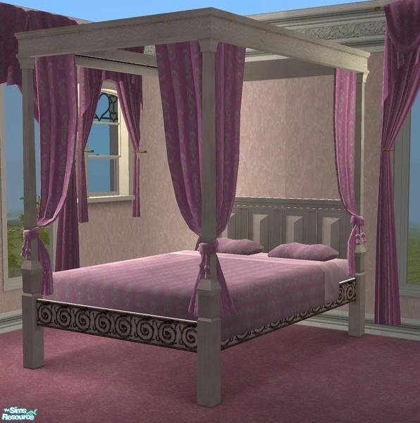 Best Grizzelda S Pink Victorian Bedroom Set Bed With Pictures