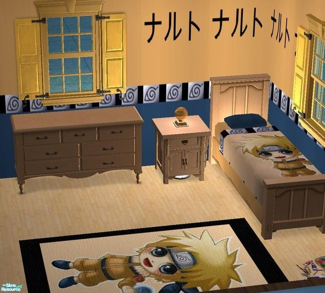 Best Bury Me Deep Inside Your Heart S Naruto Set Bedroom With Pictures