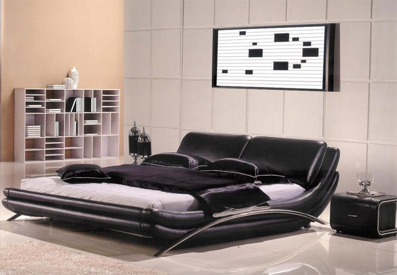 Best Modern Leather Bedroom Ae82 Modern Bedroom Furniture With Pictures