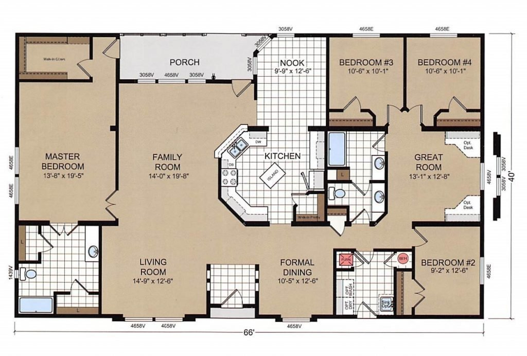Best Elegant Champion Mobile Home Floor Plans New Home Plans With Pictures