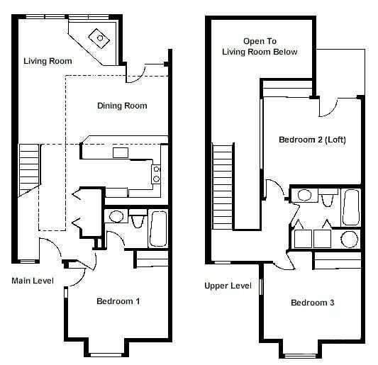 Best Luxury 2 Bedroom With Loft House Plans New Home Plans Design With Pictures