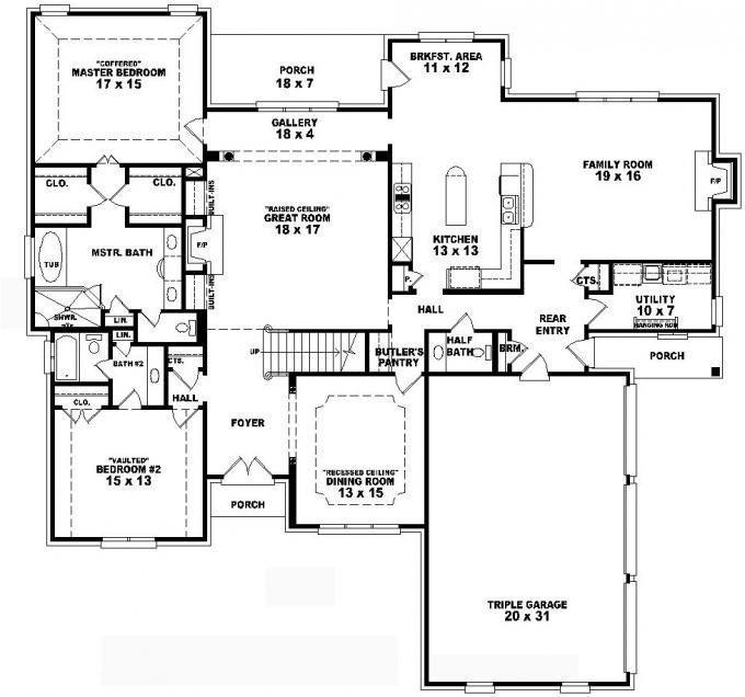 Best Lovely 2 Story 4 Bedroom House Floor Plans New Home With Pictures