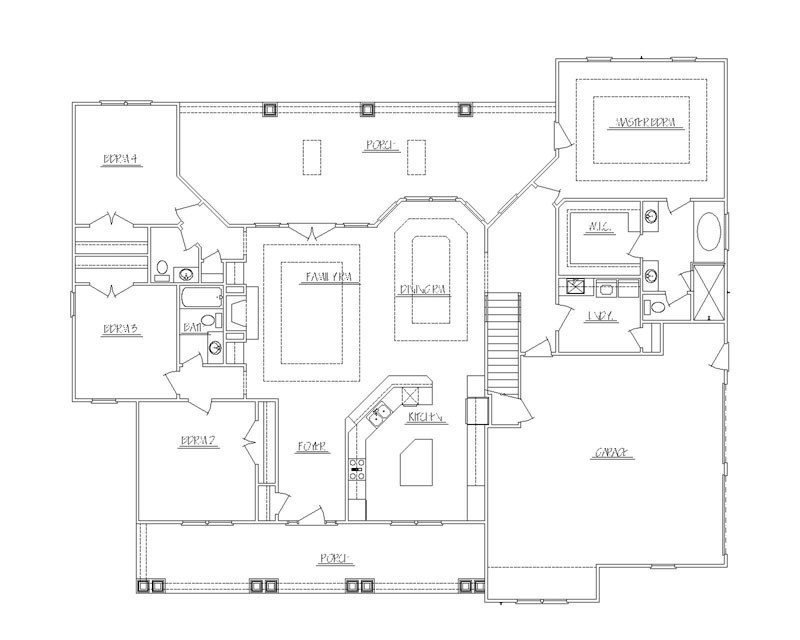 Best Inspirational 4 Bedroom With Bonus Room House Plans New With Pictures