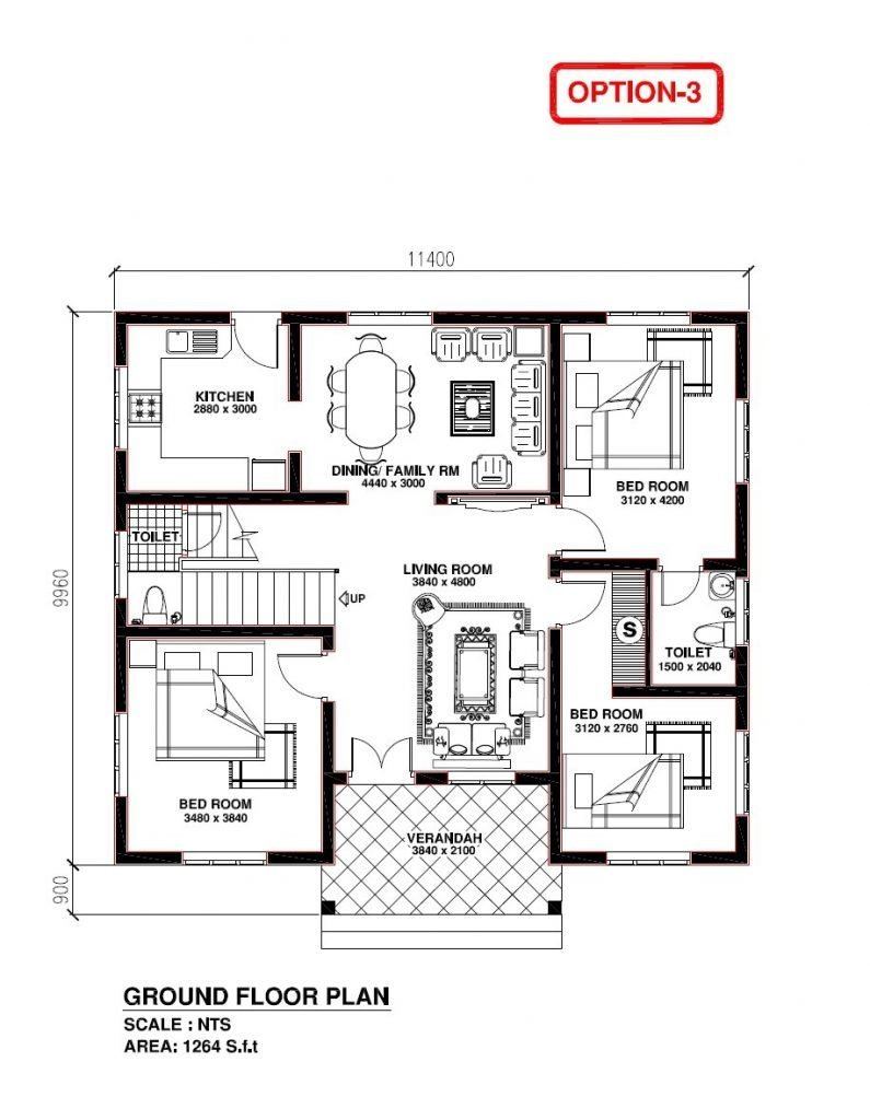 Best Elegant Kerala Model 3 Bedroom House Plans New Home Plans Design With Pictures