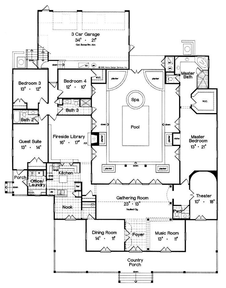 Best Beautiful Unique 3 Bedroom House Plans New Home Plans Design With Pictures