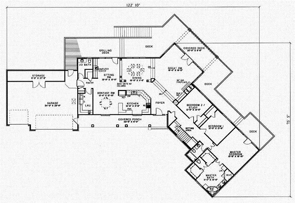 Best New 4 Bedroom Ranch Style House Plans New Home Plans Design With Pictures