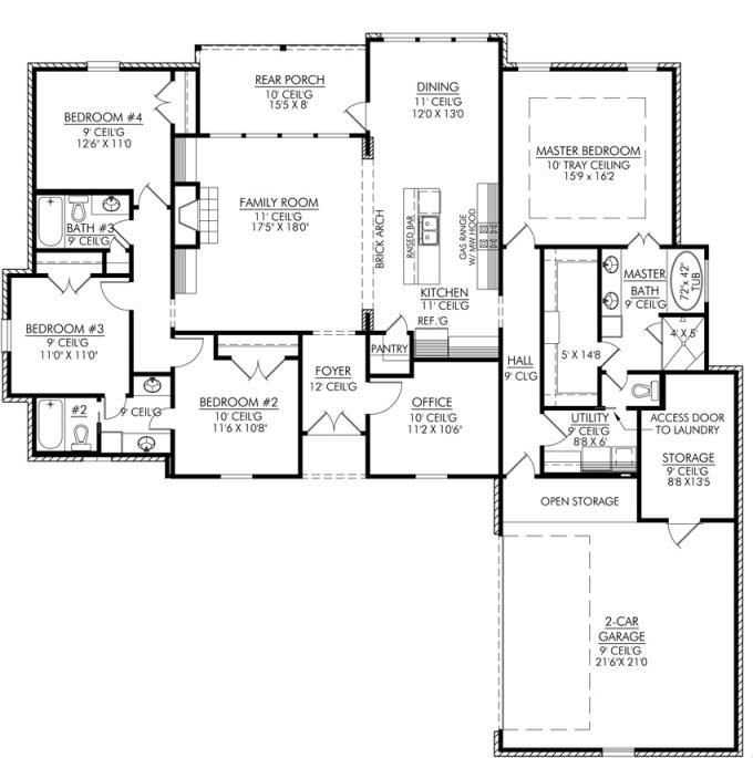 Best Four Bedroom House Plans Homes In Kerala India With Pictures