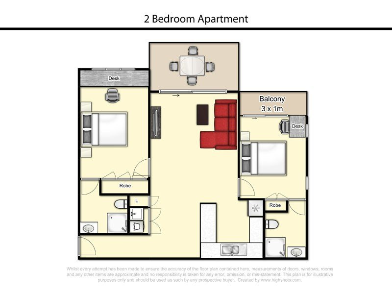 Best 2 Bedroom 2 Bathroom Apartment Altitude Apartments With Pictures