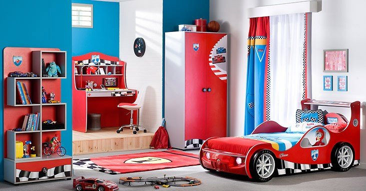Best Racing Cars Beds For Boy Bedroom With Pictures