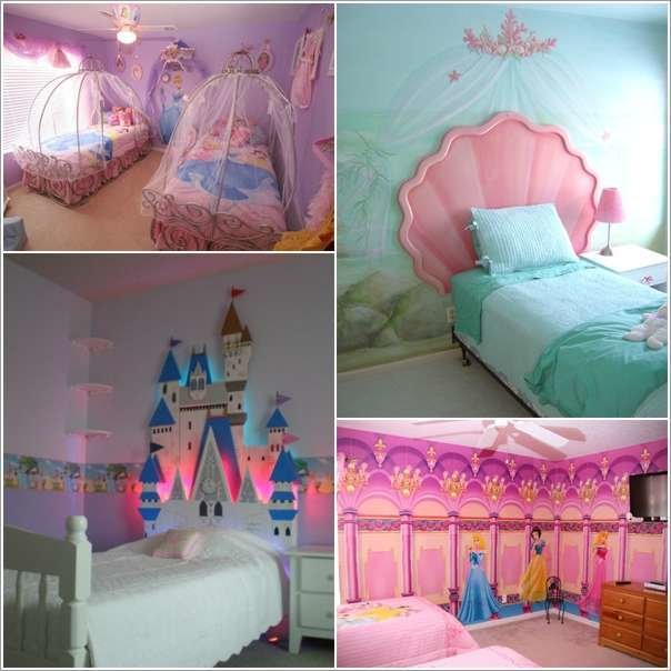 Best 15 Lovely Disney Princesses Inspired Girls Room Decor Ideas With Pictures