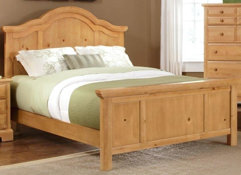 Best Unfinished Bedroom Furniture Oak Sets Ideas Solid Light Stores Traditional Mission Queen Set With Pictures