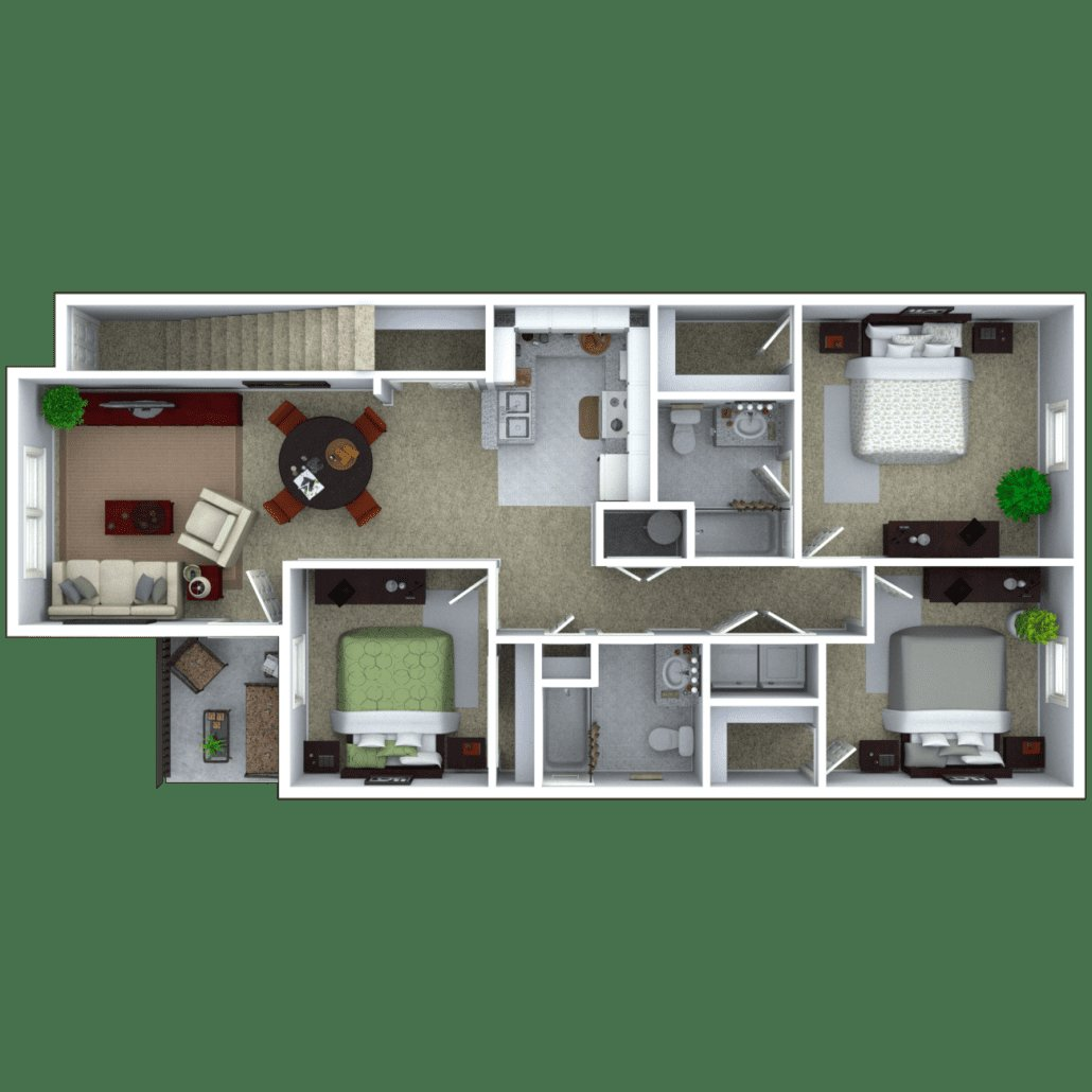 Best Michigan City Apartments Floor Plans With Pictures