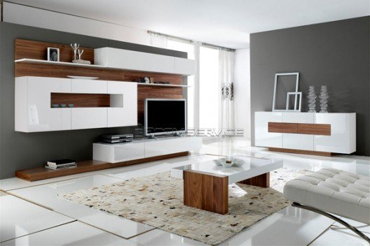 Best Modern Wall Units – Gallery Collection By Milmueble Room Service 360° With Pictures