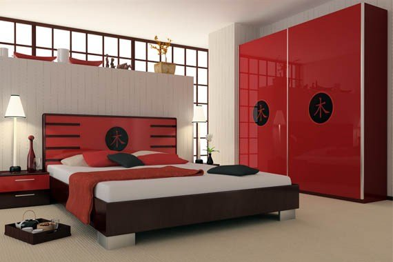 Best Red And Black Bedroom Design Home Decorating Ideas With Pictures