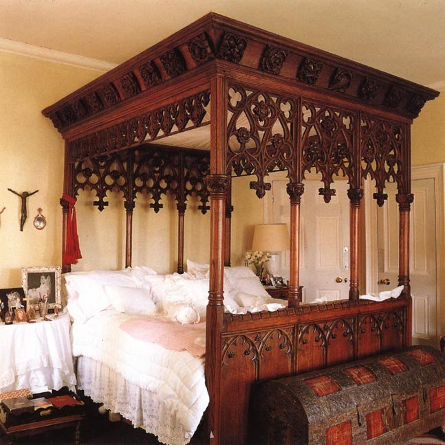 Best Home Design — Gothic Bedroom Furniture With Pictures