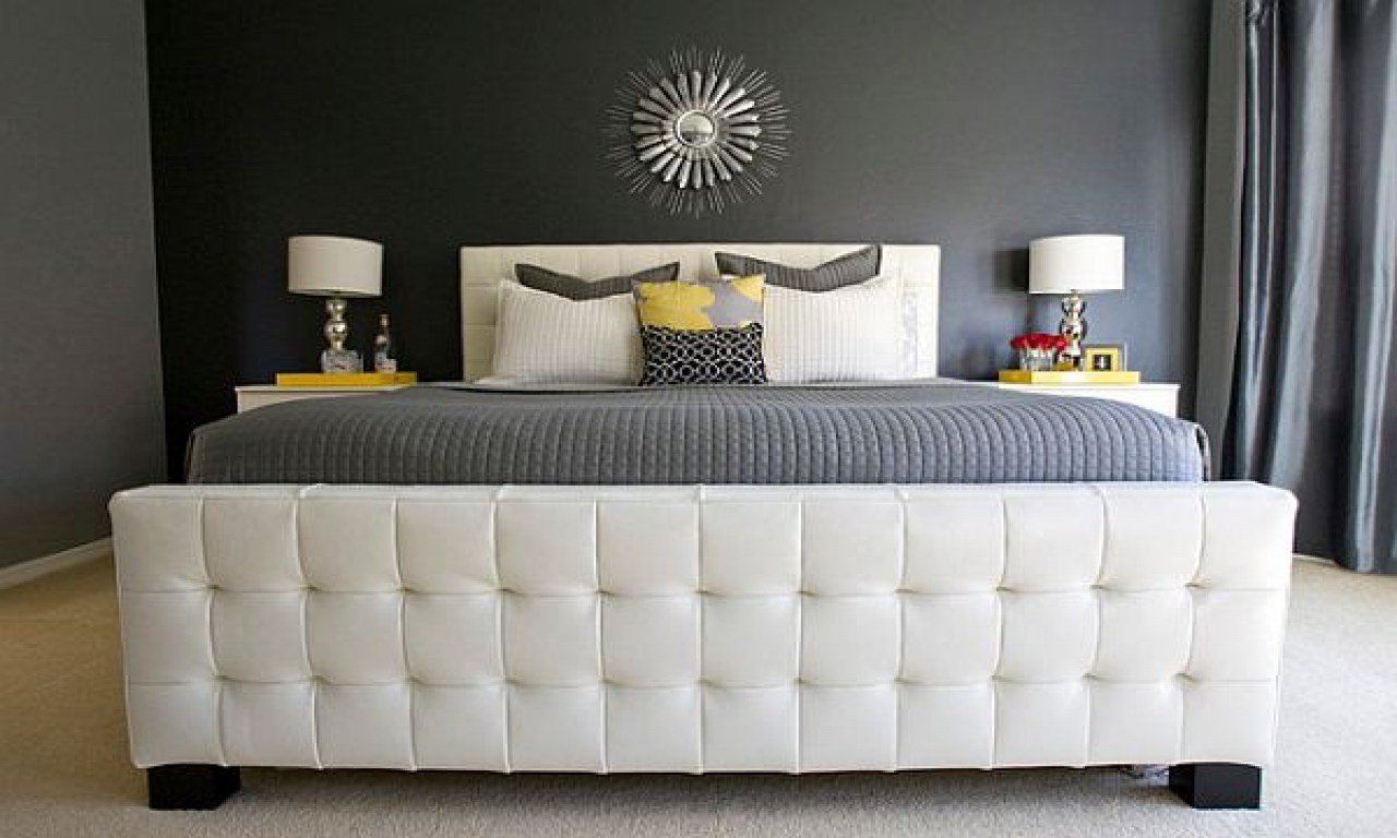 Best Grey And Yellow Design Yellow Gray And White Bedrooms With Pictures