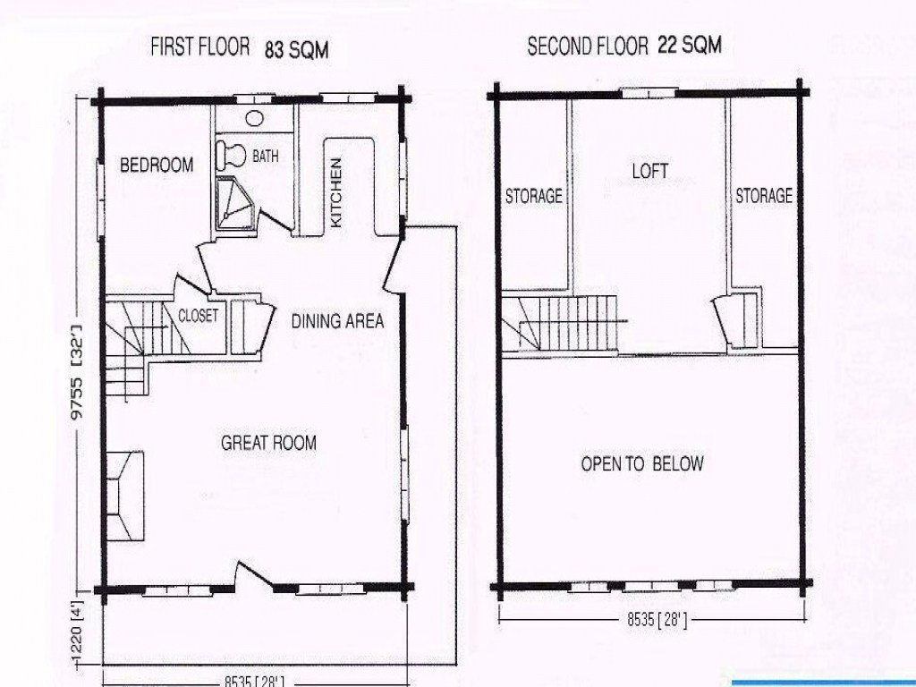 Best Turner Falls Cabins For Rent 1 Bedroom Cabin Floor Plans With Pictures