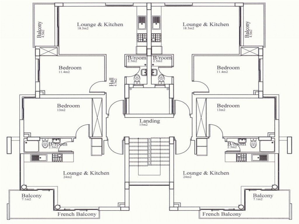 Best 4 Bedroom Floor Plan Simple 4 Bedroom House Plans That Are With Pictures