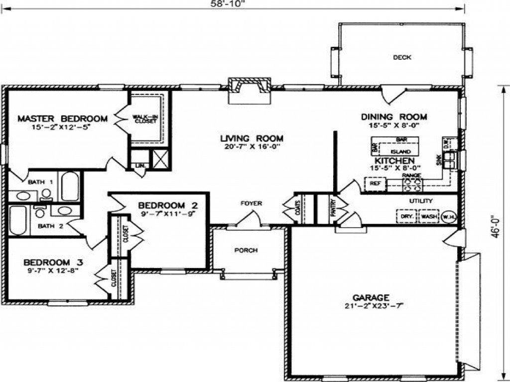 Best 2 Bedroom Ranch Style House Plans Tuscan Bedroom Colors With Pictures