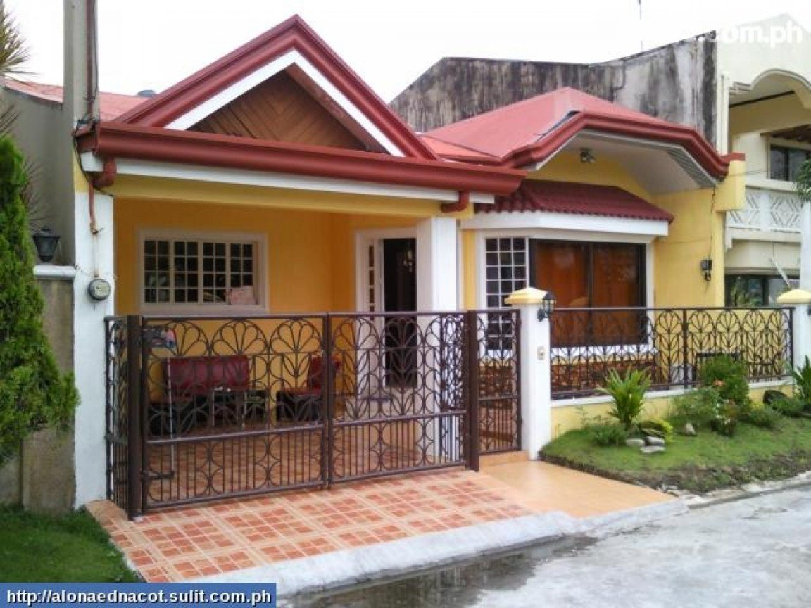 Best Bungalow House Plans Philippines Design Small Two Bedroom With Pictures