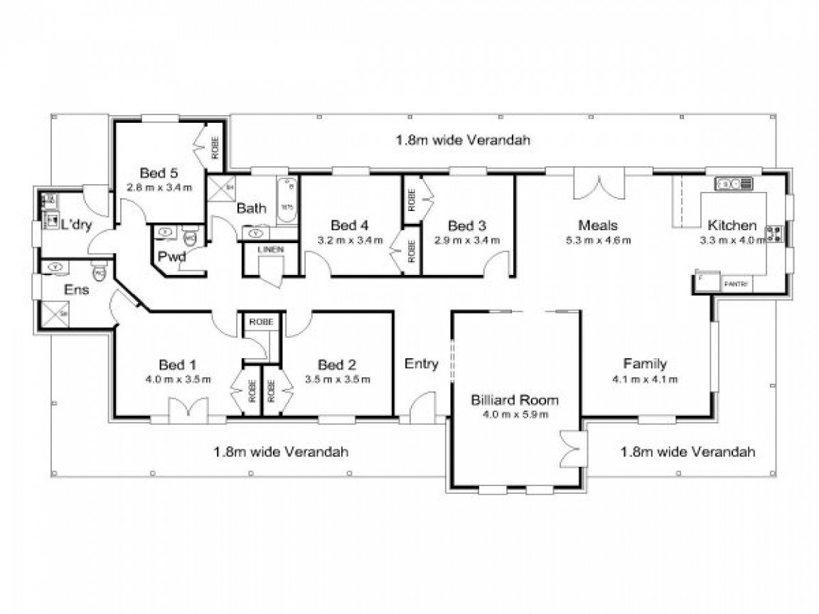 Best Modern 5 Bedroom House Plans 5 Bedroom House Plans With Pictures