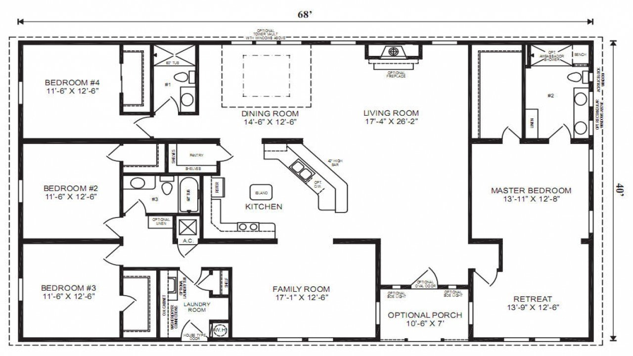 Best Mobile Modular Home Floor Plans Triple Wide Mobile Homes With Pictures