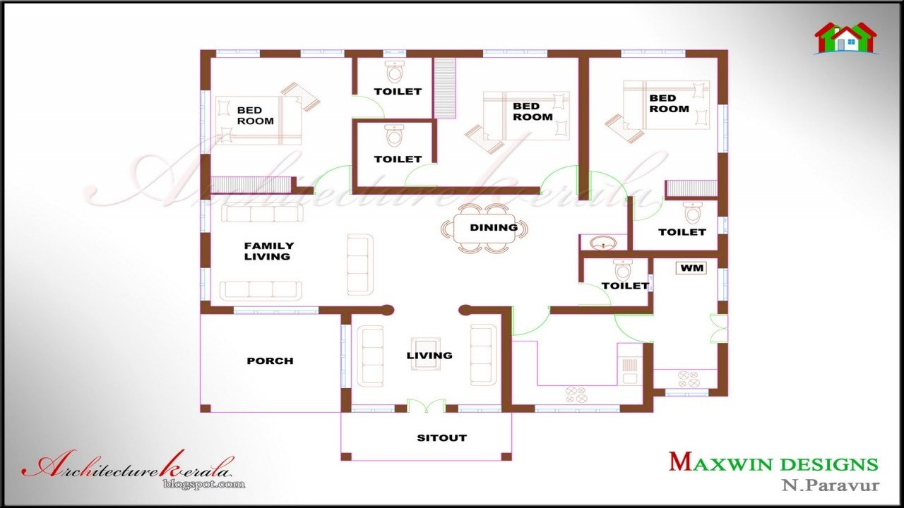 Best 4 Bedroom Ranch House Plans 4 Bedroom House Plans Kerala With Pictures