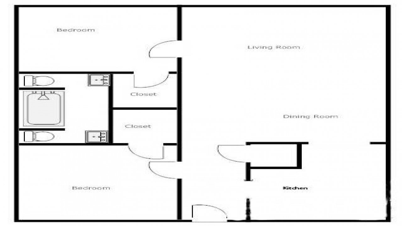 Best 2 Bedroom 1 Bath House Plans 2 Bedroom 1 Bath House House With Pictures