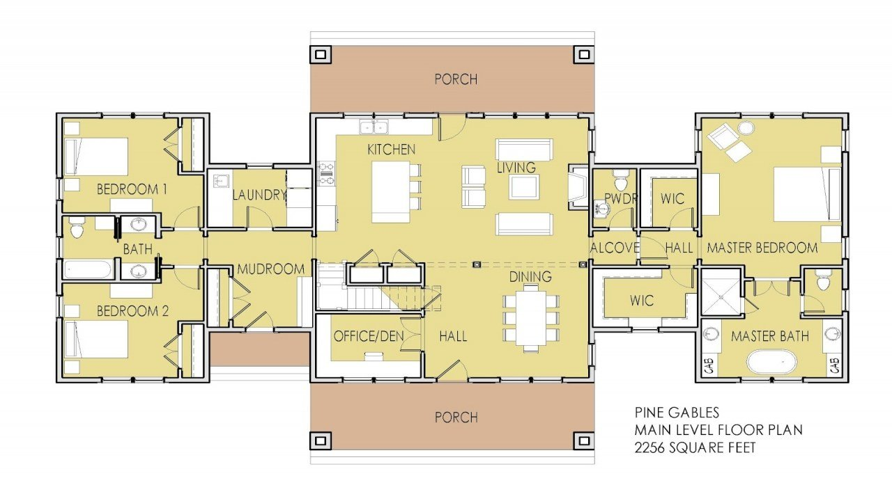 Best Modern Ranch House Plans House Plans With 2 Master With Pictures