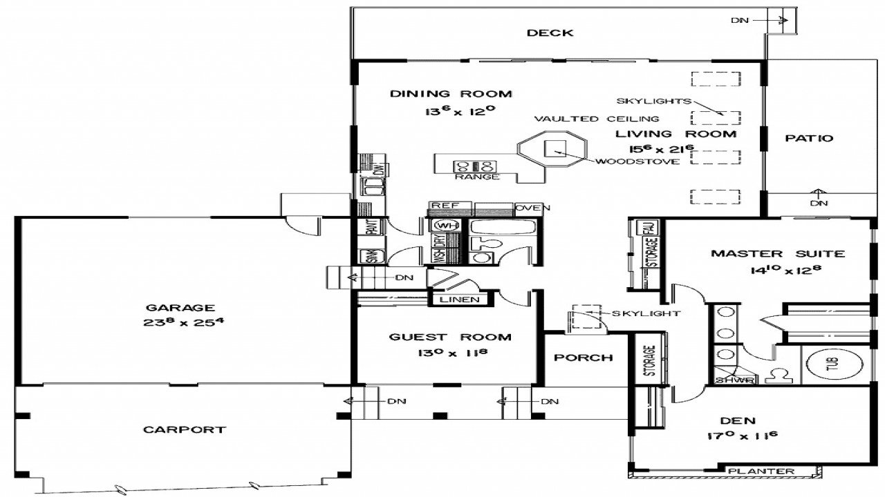 Best 2 Bedroom House Simple Plan Two Bedroom House Plans With Garage Modern Minimalist Home Plans With Pictures