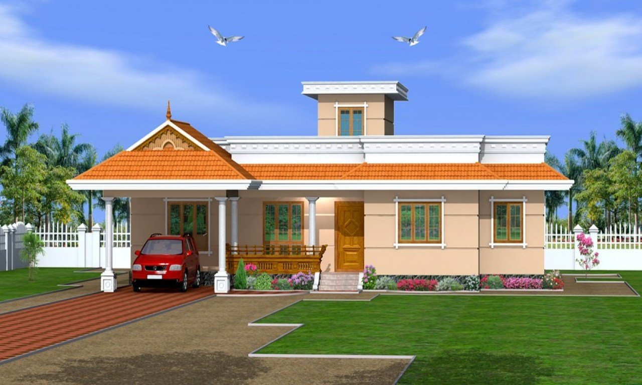 Best Kerala 3 Bedroom House Plans Kerala House Designs One With Pictures
