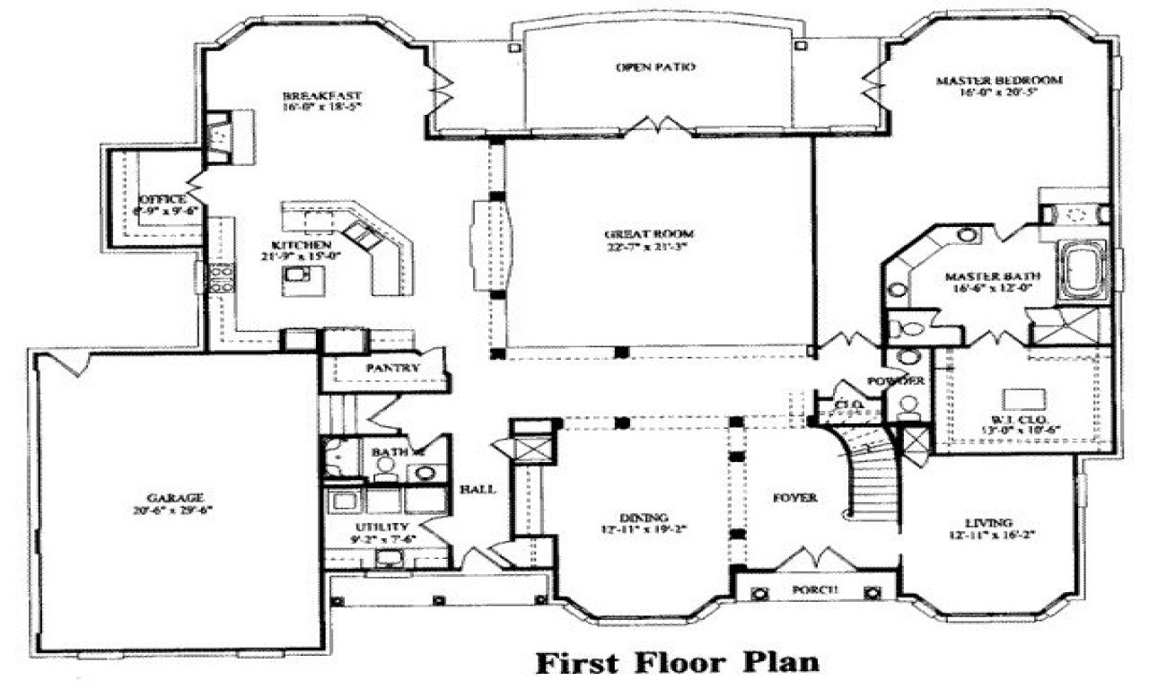 Best 7 Bedroom House Plans 15 Bedroom House Floor Plans 7 With Pictures