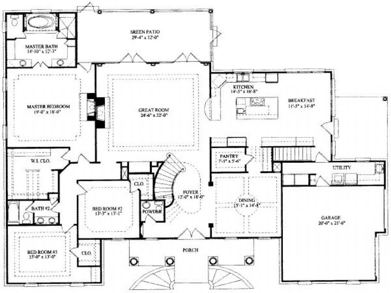 Best 8 Bedroom Ranch House Plans 7 Bedroom House Floor Plans 7 Bedroom Floor Plans Mexzhouse Com With Pictures