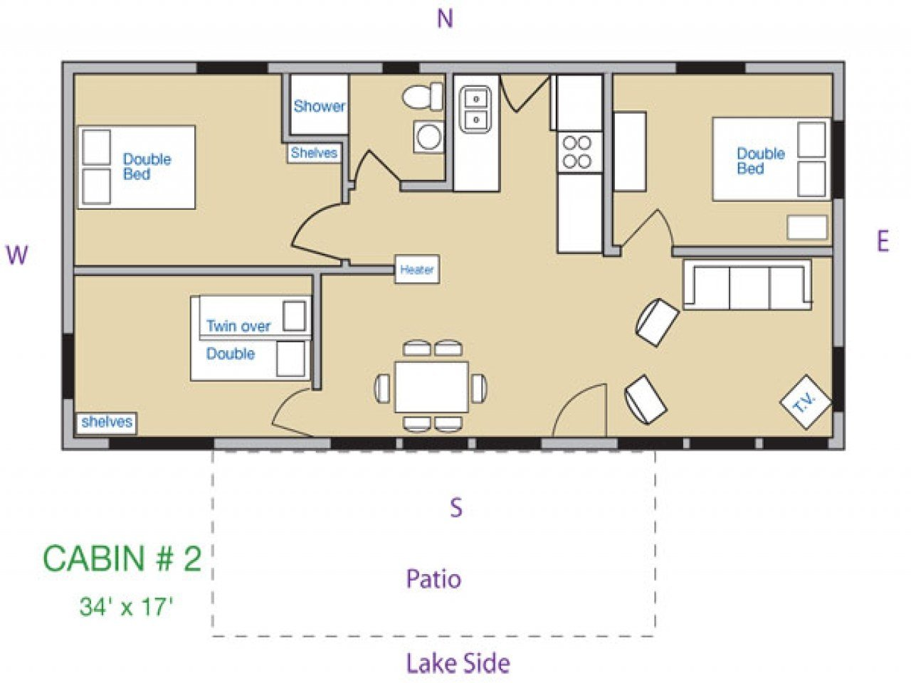 Best Three Bedroom Log Cabins 3 Bedroom Cabin Floor Plans 3 With Pictures