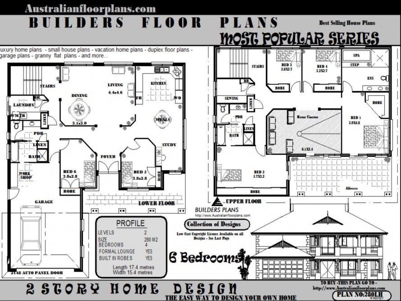 Best 6 Bedroom House Floor Plans 5 Bedroom House Federation With Pictures