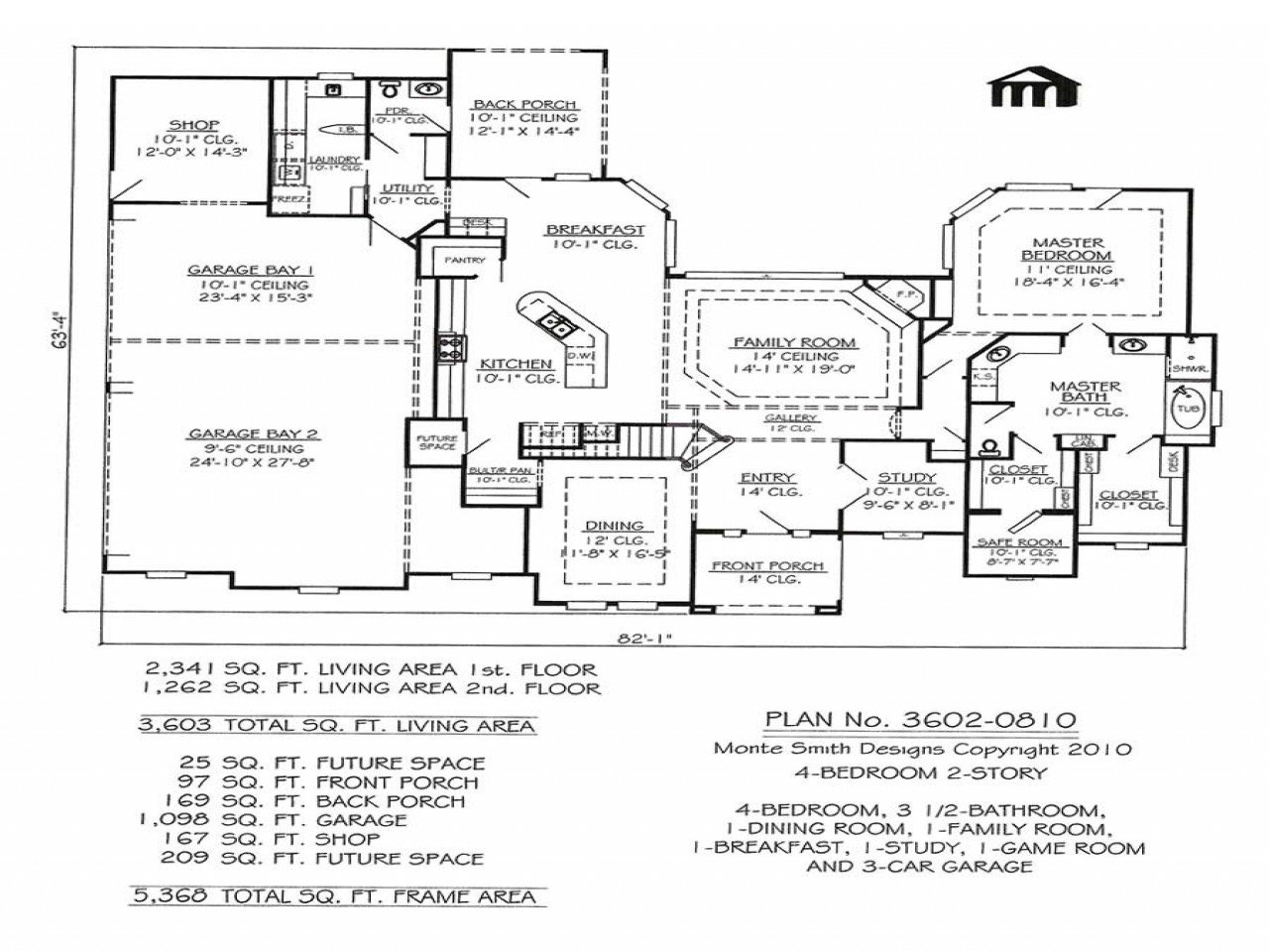 Best 4 Bedroom Ranch Floor Plans 4 Bedroom 2 Bath House Plans With Pictures