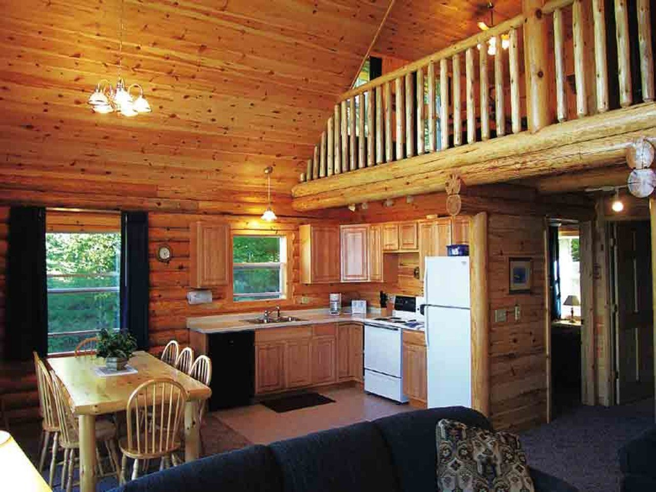 Best Cabin Plans One Bedroom One Bedroom Cabin With Loft Cabin With Pictures