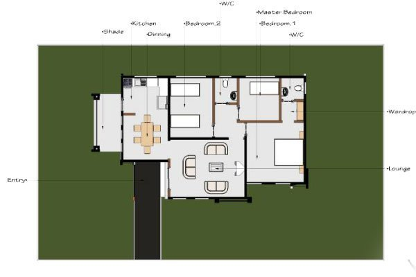 Best Build This Modern Three Bedroom House Daily Monitor With Pictures