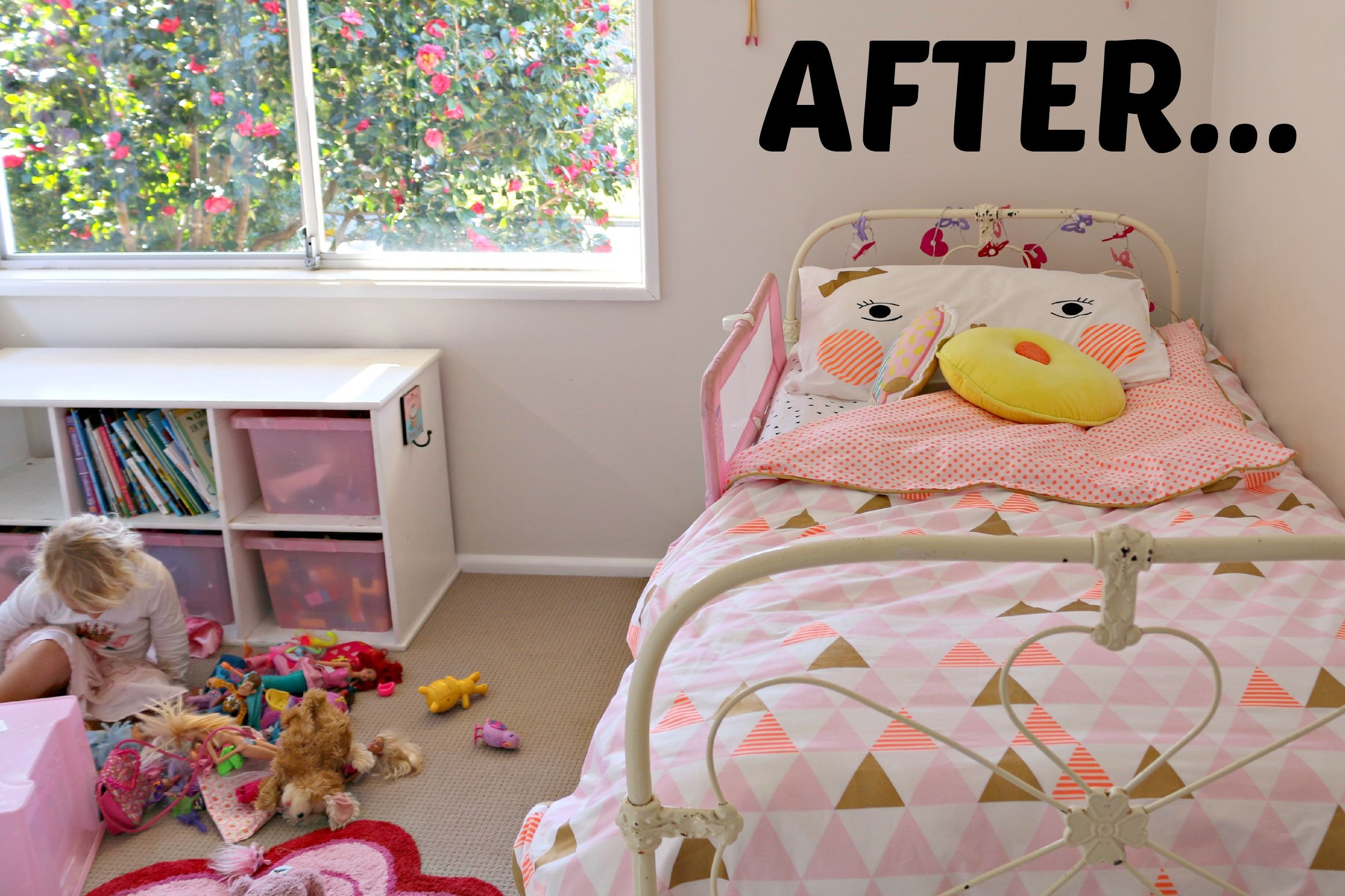 Best Cotton On Kids Girls Bedroom Makeover After Mrs D Plus 3 With Pictures