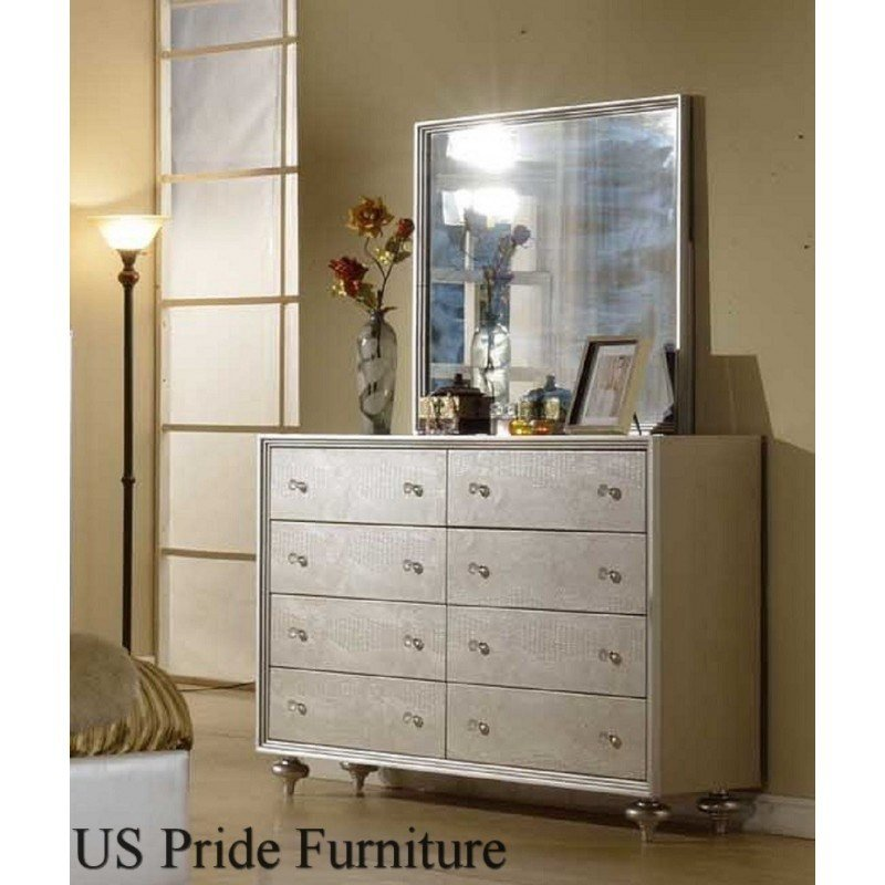 Best B8062 Manhattan 4 Piece Pearl Bedroom Set With Pictures