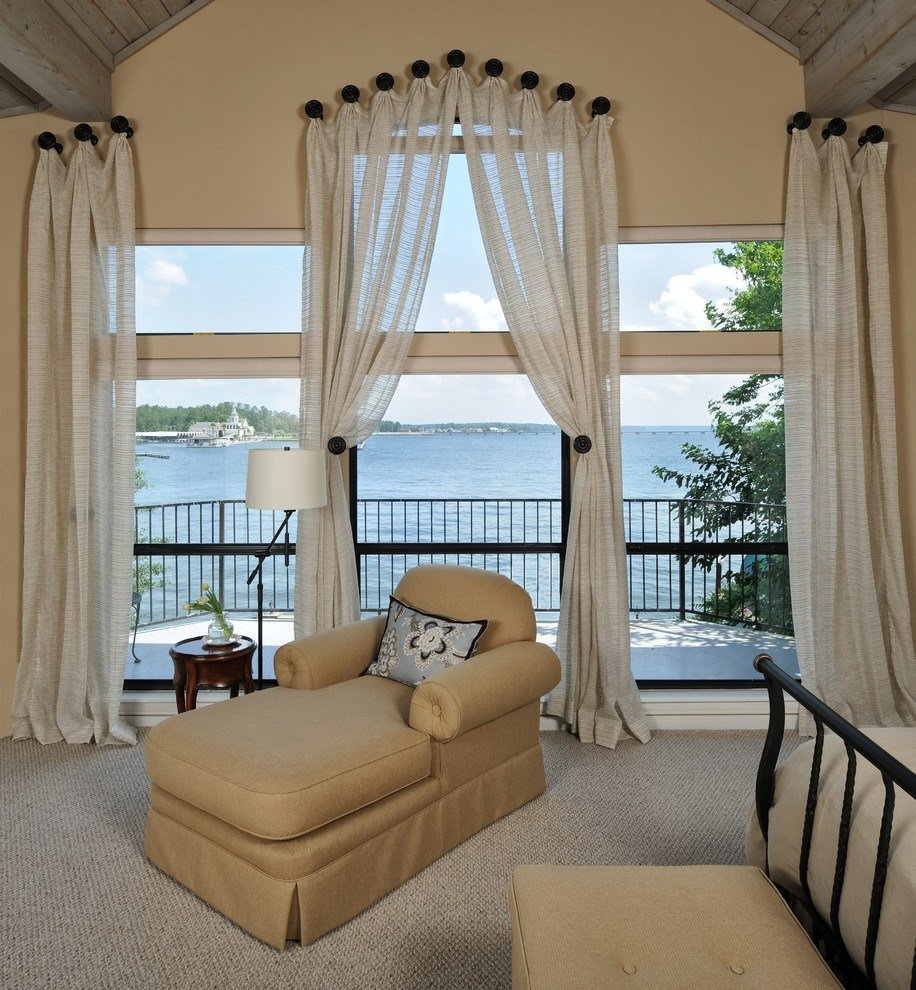 Best Curtain Rod Finials Dining Room Traditional With Crown Molding Dining Chairs Beeyoutifullife Com With Pictures