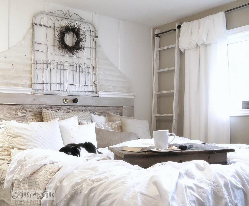 Best A Salvaged White Trash Bedroom Makeover From Burn Pile With Pictures
