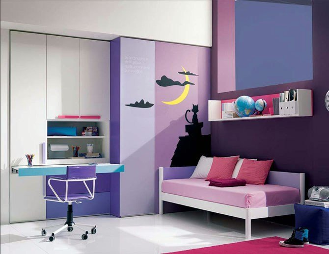 Best 2010 08 Purple Decorative Teenage Girl Bedroom Fantastic Viewpoint With Pictures