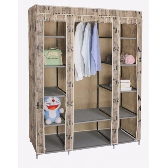Best Modern Bedroom Set Portable Fabric Wardrobe Products With Pictures