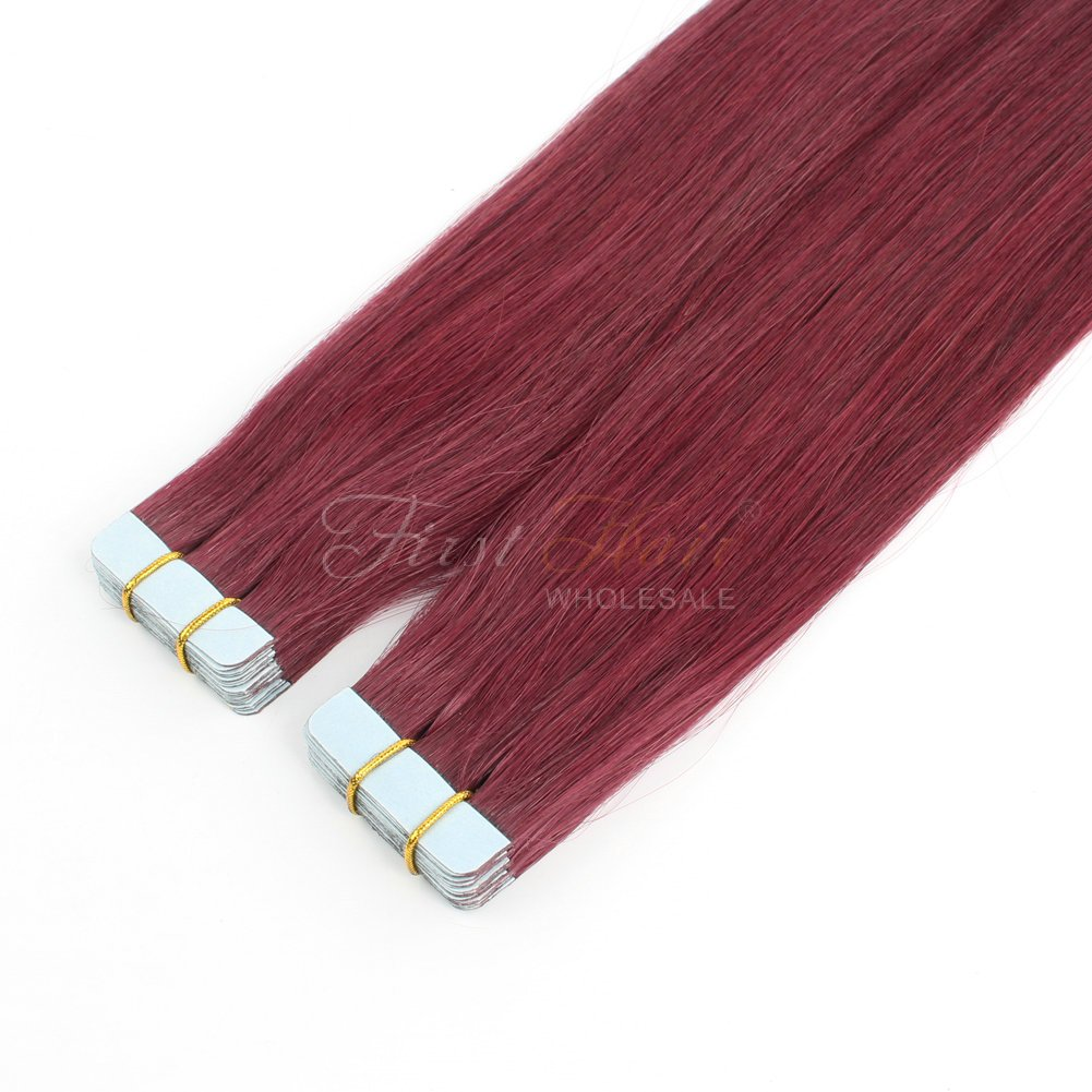 Free 530 Color Tape In Hair Extensions 18Inch Top Grade V*Rg*N Wallpaper