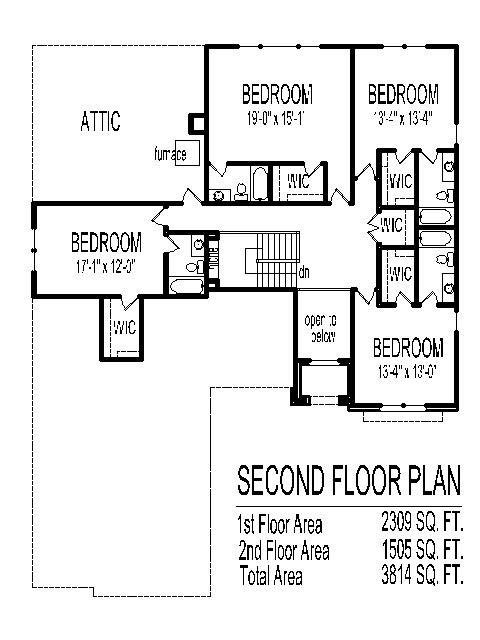 Best House Drawings 5 Bedroom 2 Story House Floor Plans With 5 With Pictures