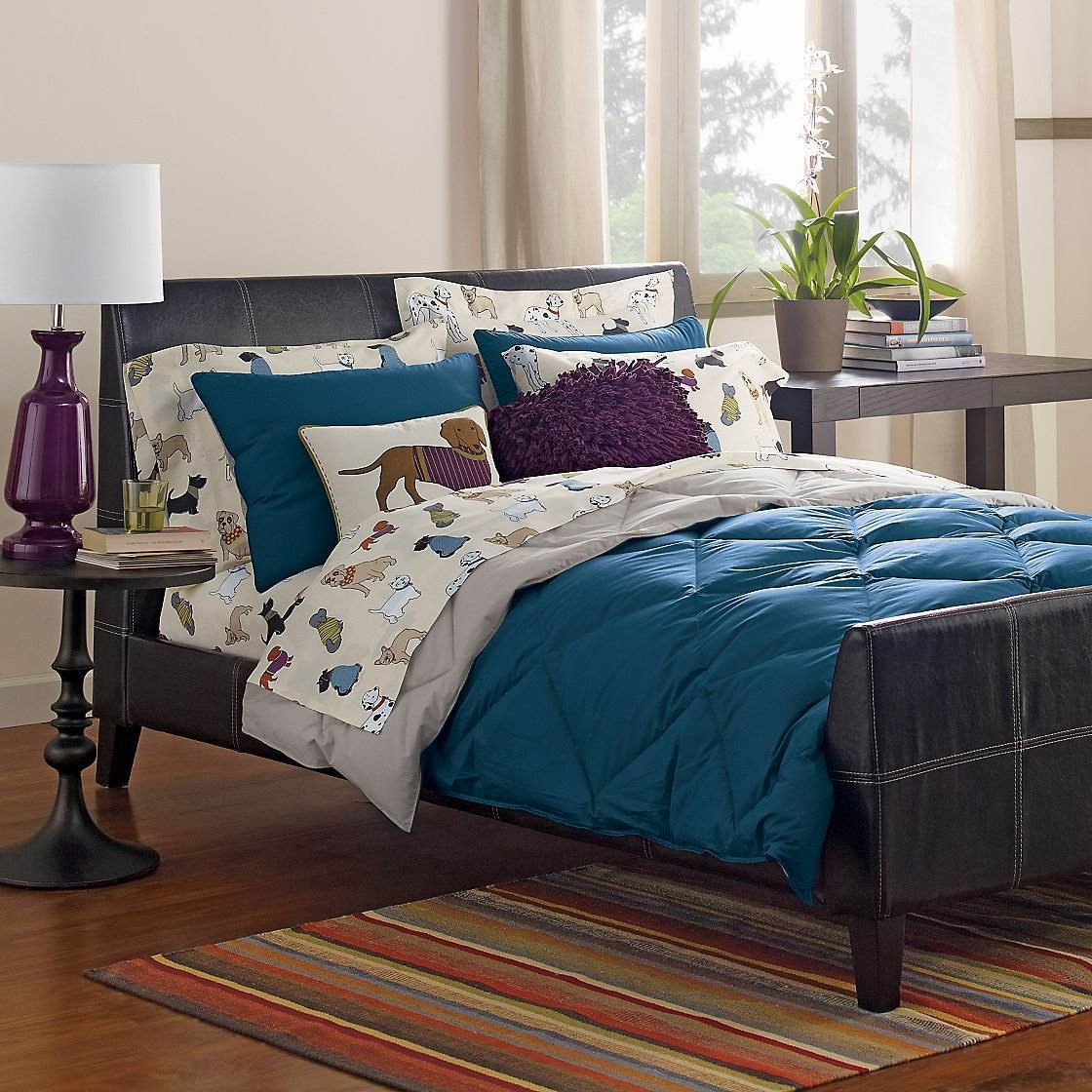 Best Vikingwaterford Com Page 170 Blue And Green Striped Cotton Bedspread With Green Tailored With Pictures
