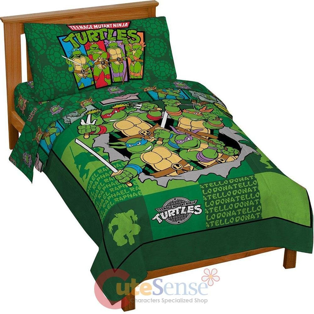 Best Tmnt Ninja Turtles Turtle Toddler Bedding Set 4Pc With Pictures