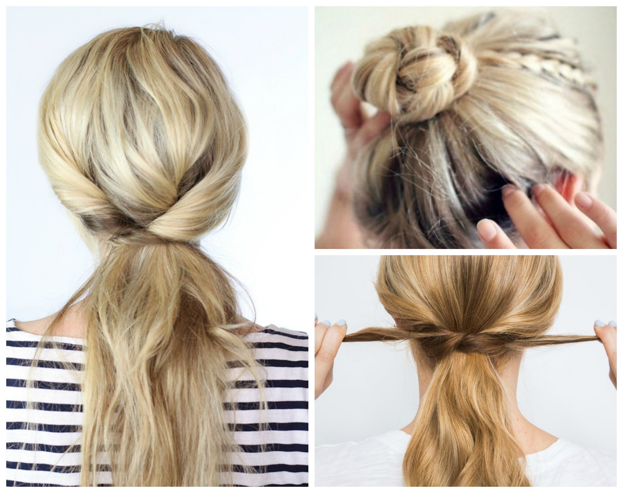 Free 8 Beyond Easy 5 Minute Hairstyles For Those Crazy Busy Wallpaper