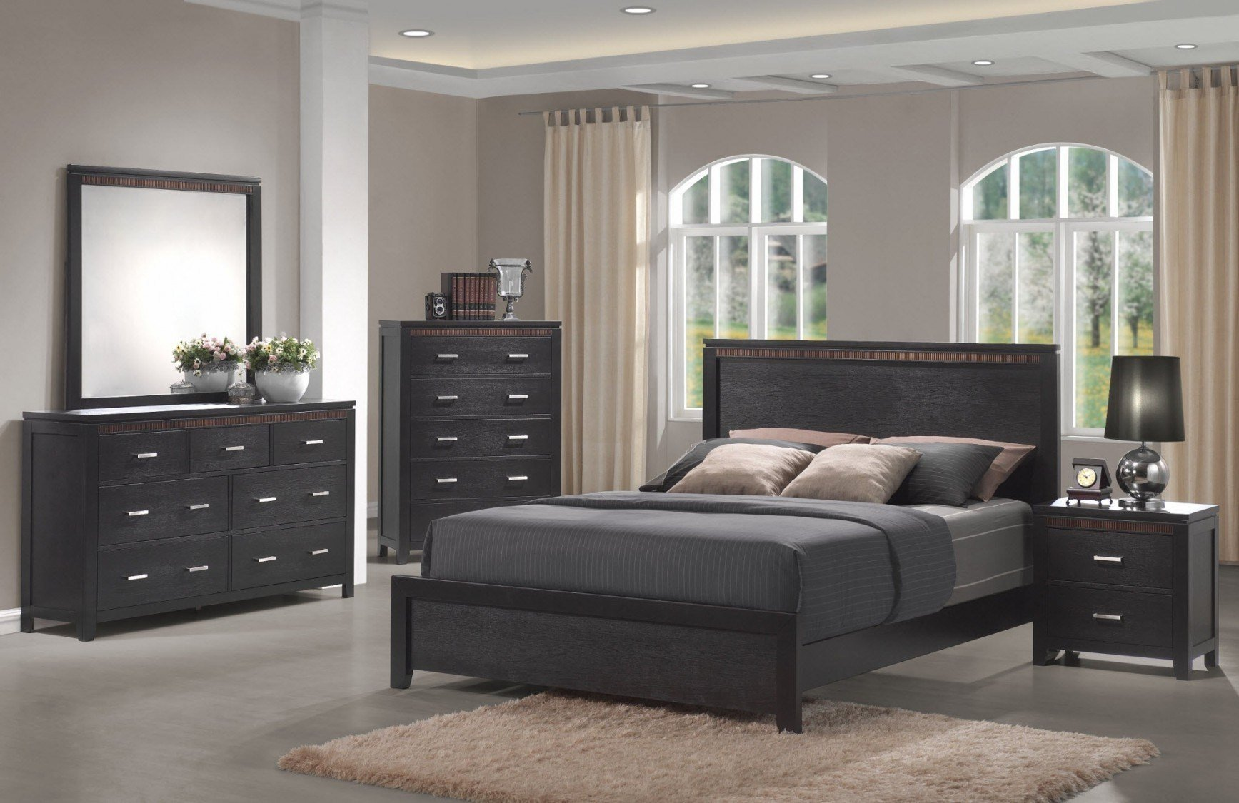Best High Gloss Grey Bedroom Furniture Cileather Home Design With Pictures